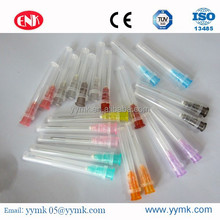 Injection & Puncture plastic Disposable syringe needle