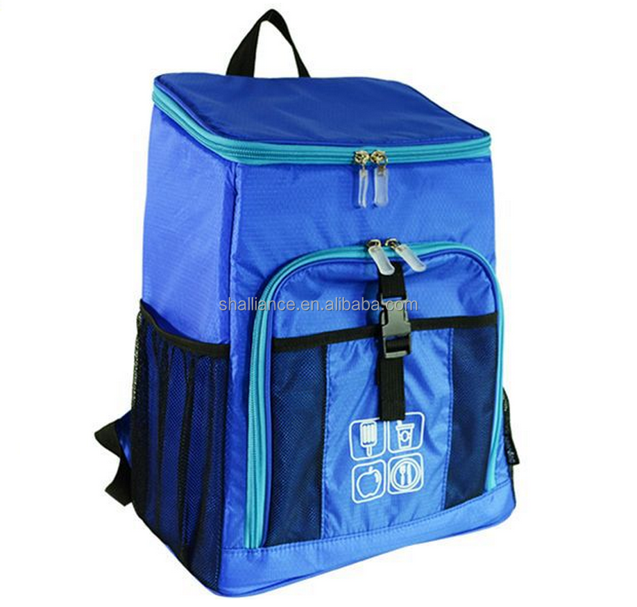 High Quality Innovator Insulated 6 Meal Fitness Management Backpack Cooler Lunch Bag