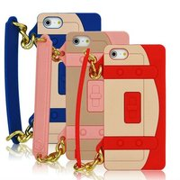 Handbag silicon case for iphone 5 with high quality