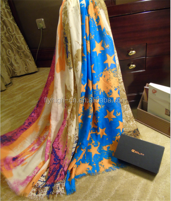 wholesale latest design silk scarf hijab for lady