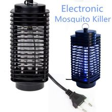 Electronics Mosquito Killer Trap Moth Fly Wasp Led Night Lamp Bug Insect Light Black Killing Pest Zapper
