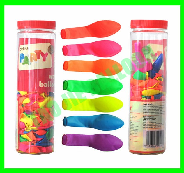 NEON Water Balloon come with water nozzle