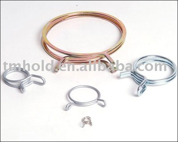 constant tension wire spring hose clamps without screw
