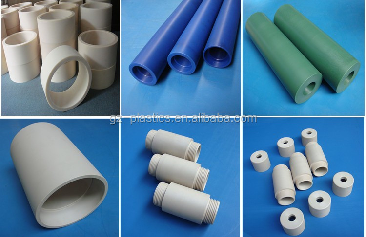 Custom made heat resistant large diameter mc nylon 66 pipe tube cheap plastic nylon tube