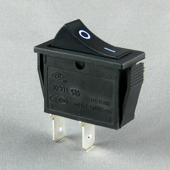 KCD1 16a 250v cqc ce ce ence spst 2 pin Rocker Switch16a