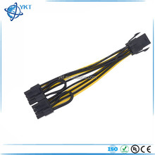 Molex 6 pin PCI Express to 2 x PCIe 8 (6+2) pin Motherboard Graphics Video Card PCI-e CPU VGA Splitter Hub Power Cable