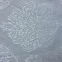 Hotel project sheer fabric 100 polyester crinkle fabric