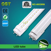 140 degree beam angle Led tube T8 light 18W 21W 24W 30W 34W 36W ETL CE ROHS approved 5 years warranty
