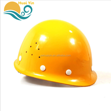 Fiberglass ABS construction anti-shock safety helmet for road construction
