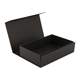 Wholesale black packaging paper magnetic box for gifts