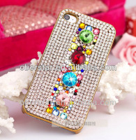 LUXURY BLING DIAMOND COLORFUL GLITTER COVER CASE FOR APPLE IPHONE 5 5S