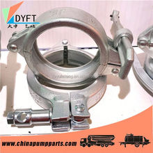 China ductile iron pipe fittings clamp on pipe coupling