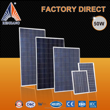 Most efficient solar panel solar module 50w polycrystalline silicon cell best price for sale