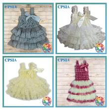 2016 New Baby Clothing One Piece Girls Party Dresses For Lace Dress Frock designs Girls party wear dresses 2013