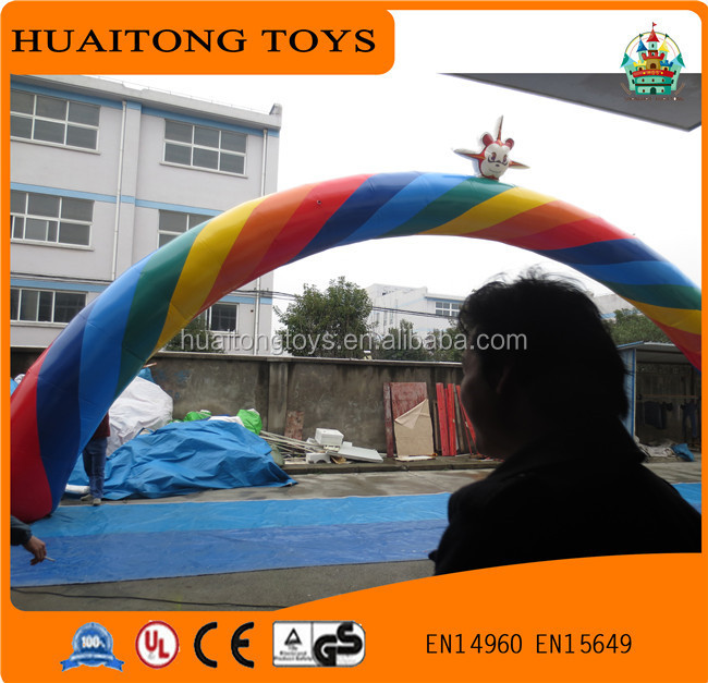 2016 Hot sale inflatable arch for race game/outdoor event inflatable arch for sport