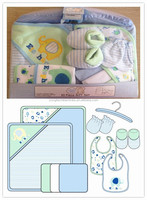 2016 new design newborn baby gift set