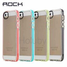 Rock Back Case for iPhone SE, Rock Joyful Series Detachable PC Bumper Case for iPhone SE 5S 5 TPU Back Cover