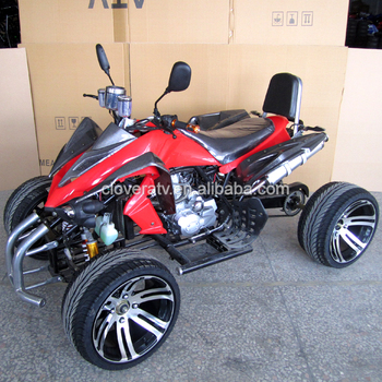 350CC Kawasaki Racing Quad ATV with 14inch Wheel