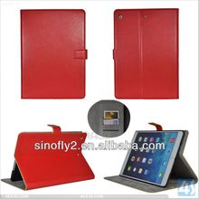 High quality belt clip pu leather case for ipad air P-IPD5CASE104