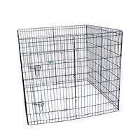 Outdoor eight panels portable folding pet PlayPen
