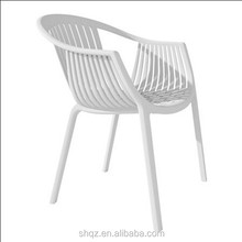 high quality white cheap plastic patio chairs