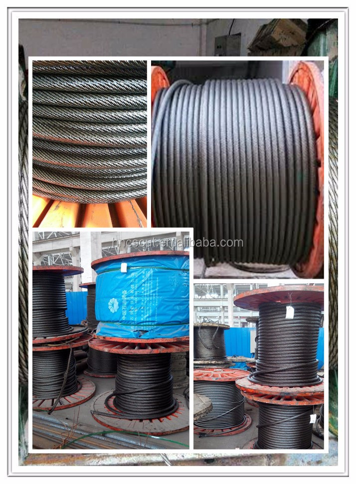 6*36 6*29 35*7 Alibaba Steel Wire Rope Companies