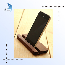 Handmade office home decoration gift promotional wooden mobile/cell phone holder