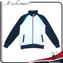 latest design jacket for men with zip up to collar from Guangzhou China