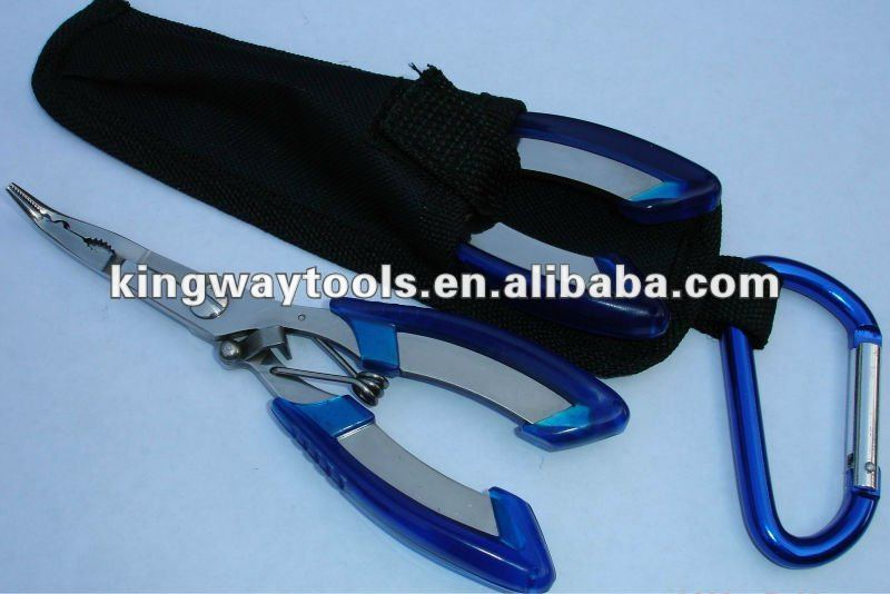160mm stainless steel Fishing pliers with nylon sheeth