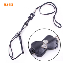 Fashion PU Dog leash harness manufactures dog accessories pet harness and leash