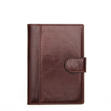 RFID Blocking Leather Passport Holder & Travel Wallet Id Card Case Cover