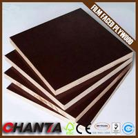 Linyi best price phenolic coated plywood film faced plywood
