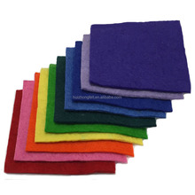 3mm - 5mm thick 100% Merino Wool Felt Fabric Cheap Price Stock Fabric