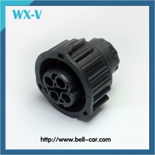 stock 4 hole Way Round Sealed Automotive Wire Female Connector Housing In Stock 1-1813099-3