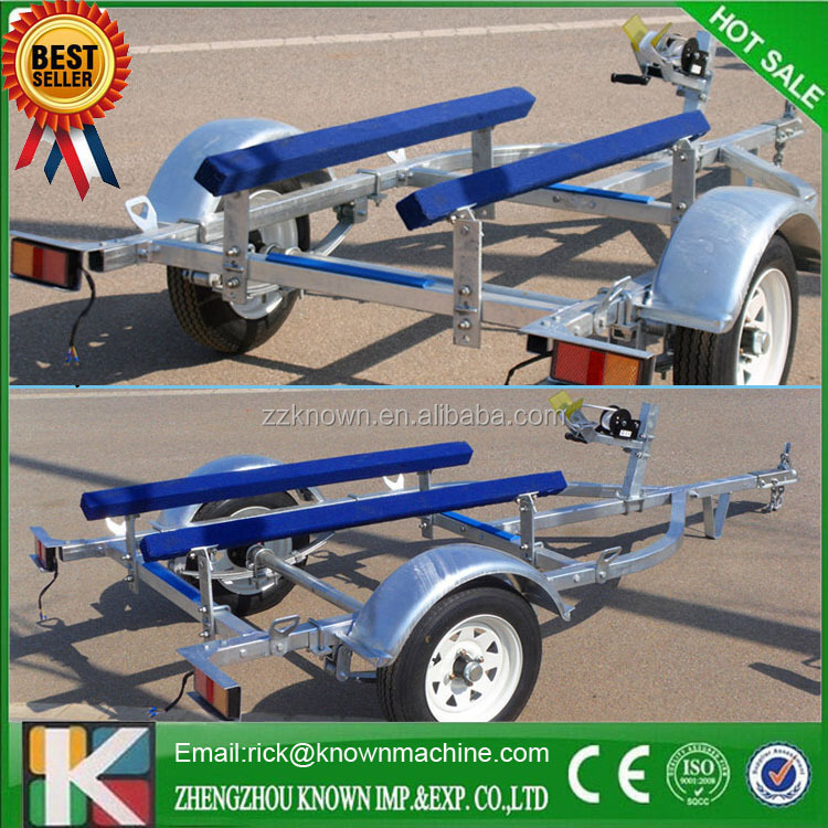 3.5m-6.8m length inflatale boat trailer for sale