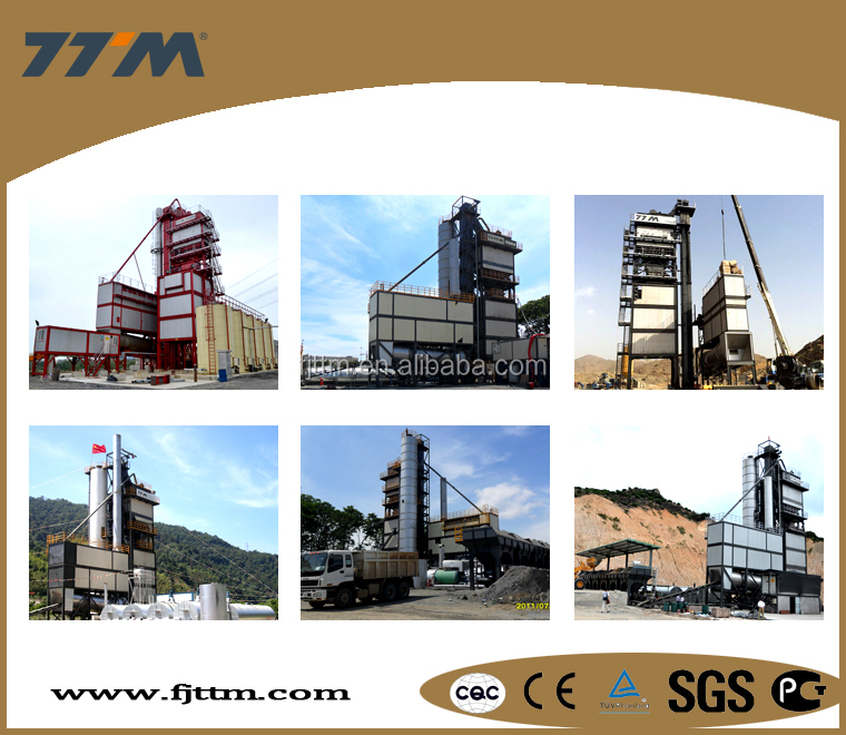 160t/h stationary asphalt mixing plant manufacturer