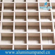 Suspended Aluminum Grid Ceiling Panel/Open Cell Ceiling Panel For Ceiling Decoration