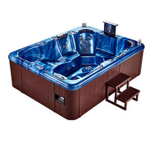 Copper whirlpools/Two Lounge Hot Tub/Vertical whirlpools