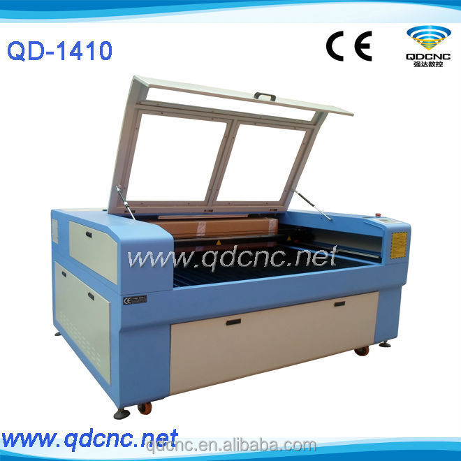 rubber stamp laser engraving cutting machine looking for distributors / dealers QD-1410