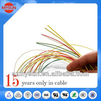 300V/80 Degree pvc insulated PVC building cable wire ul1007