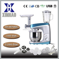 1000W All in one multifunction mixer with juicer