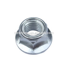 Low price titanium alloy dacroment hex lock nut