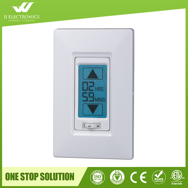 Top Quality In Wall Touch Screen digital countdown timer switch with ETL Listed