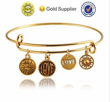 manufacture promotional wholesale quality custom bracelet faux bijou