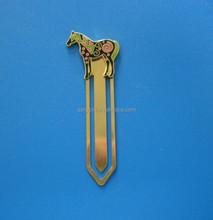 gold rainbow horse bookmark fancy birthday gifts bookmark for books