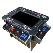 21.5 inch 3 sides 4 players 1033 in 1 cocktail table arcade game machine for children / adult