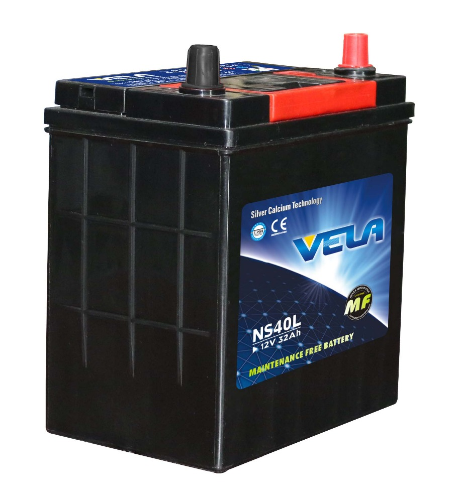 golf cart batteries wholesale NS40L maintenance free battery