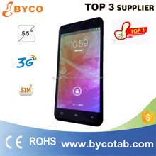 5.5 smart phone with stylus/built-in antenna cell phone/mobile phone dual sim