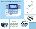 2014HOTTEST integrated physiotherapy tens machine with ultrasound, laser,heating LGHC-33
