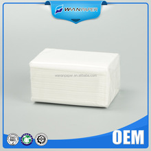 advertising fine tissue paper soft pack facial tissue